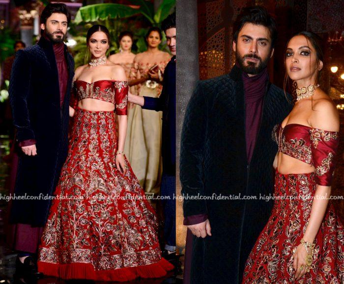 Deepika Padukone And Fawad Khan Walk For Manish Malhotra At India Couture Week 2016-1