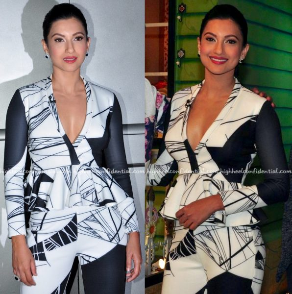 Gauahar Khan In Shivani Awasty On The Kapil Sharma Show Sets-2