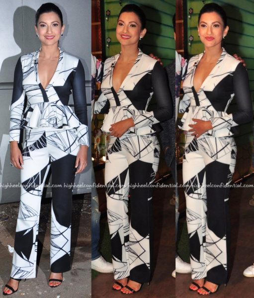 Gauahar Khan In Shivani Awasty On The Kapil Sharma Show Sets