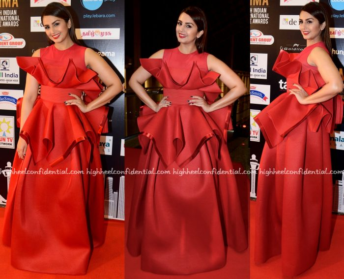 Huma Qureshi In Amit Aggarwal At SIIMA 2016-1