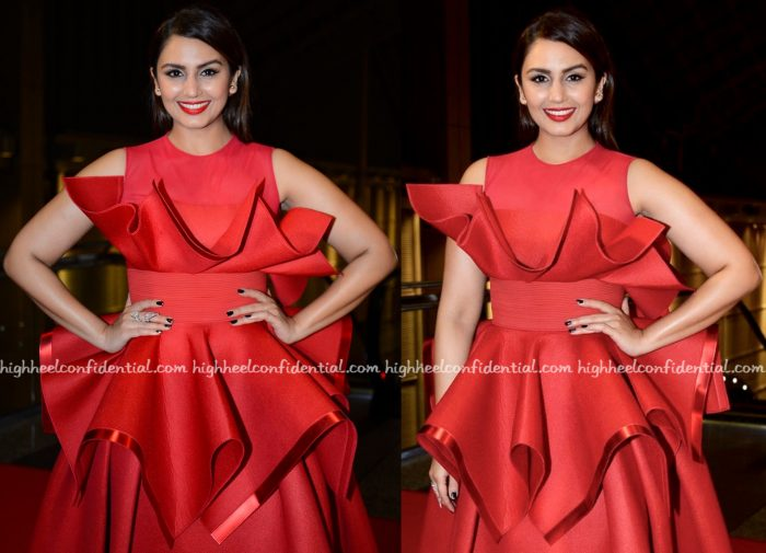Huma Qureshi In Amit Aggarwal At SIIMA 2016-2