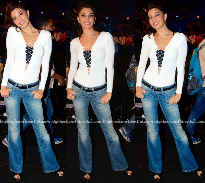 Jacqueline Fernandez At Dishoom Promotions-2