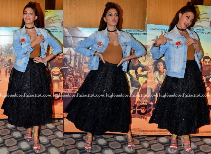 Jacqueline Fernandez At Dishoom Promotions