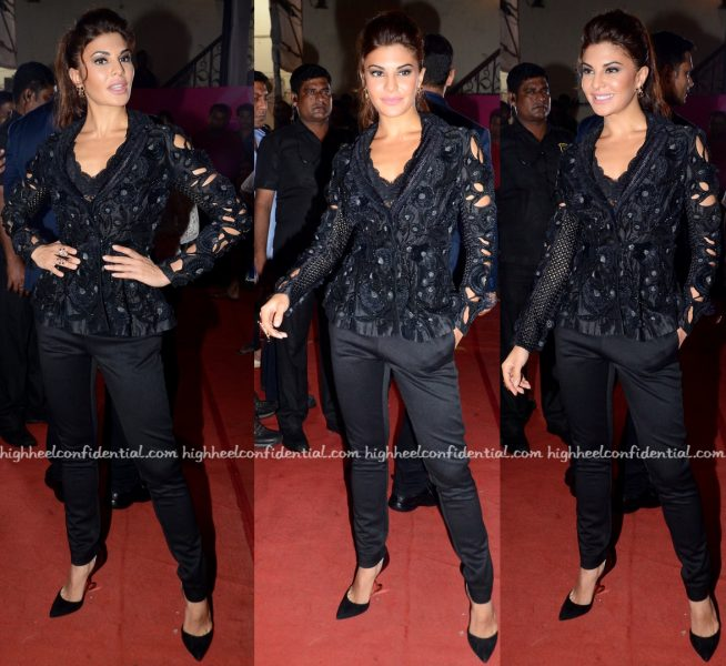 Jacqueline Fernandez On 'So You Think You Can Dance' Sets For Dishoom Promotions-1