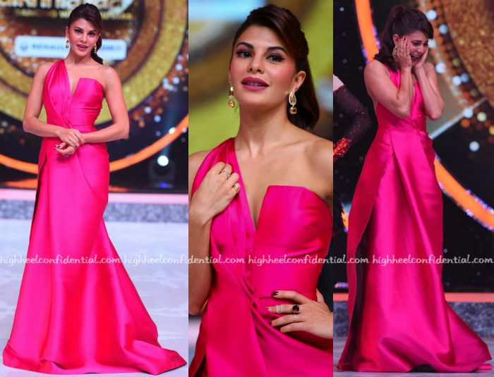 Jacqueline Fernandez Wears Monisha Jaising On Jhalak Dikhhla Jaa Sets-1
