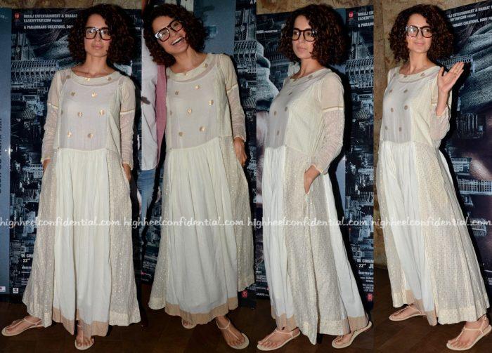 Kangana Ranaut At 'Madaari' Screening