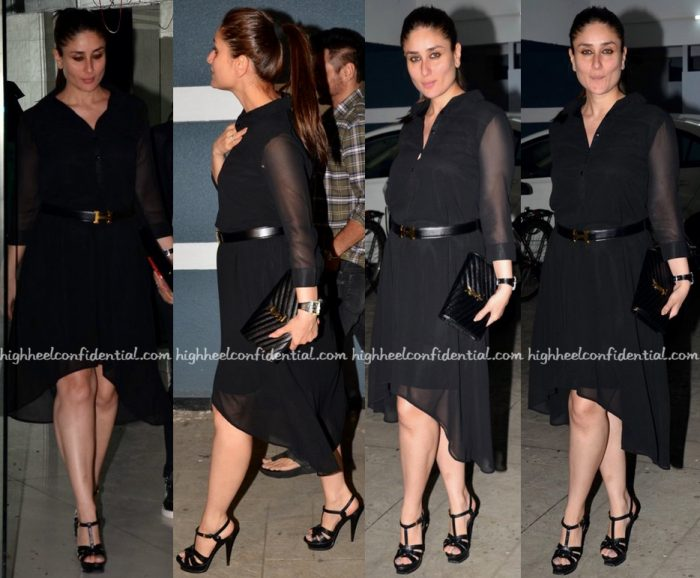 Kareena Kapoor Photographed At Sanjay Kapoor's House