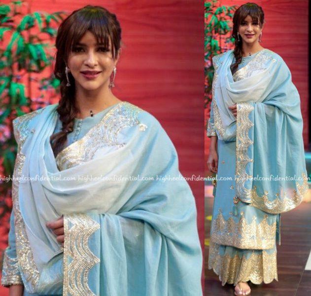 Lakshmi Manchu Wears Sukriti & Aakriti To Memu Saitham Sets