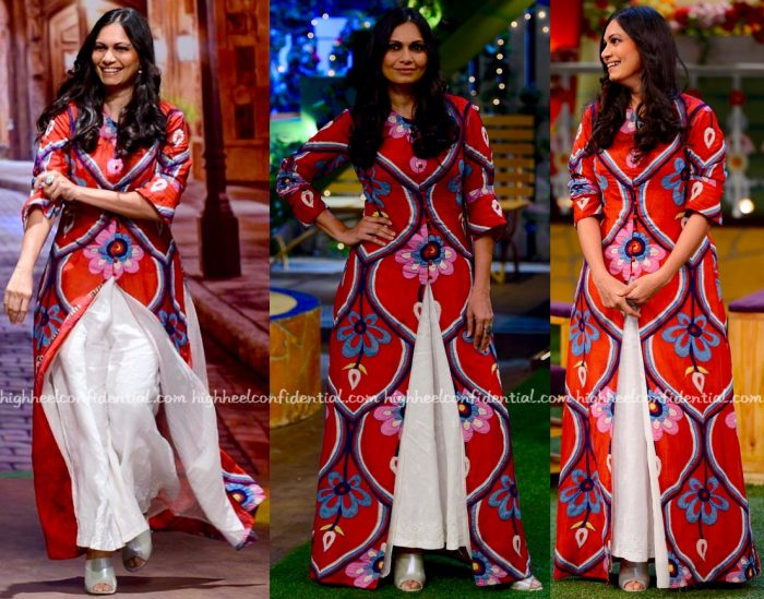 Maria Goretti Wears Swati Vijaivargie To 'The Kapil Sharma Show' Sets-1