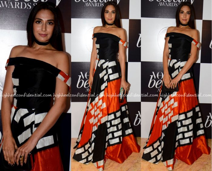 Monica Dogra In Urvashi Joneja At Vogue Beauty Awards 2016
