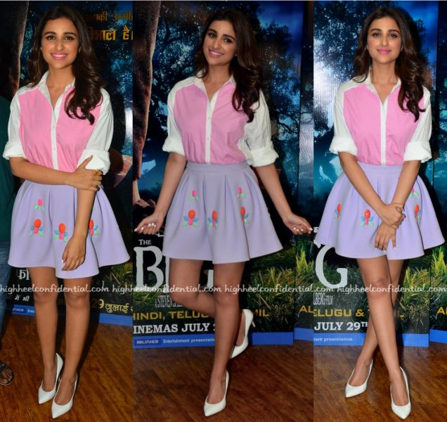 Parineeti Chopra Wears Zara And ASOS To The BFG Promotions-2