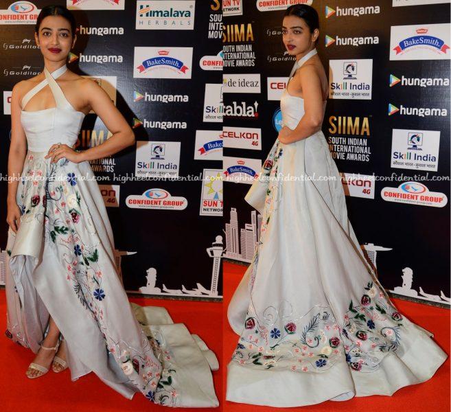 Radhika Apte In Shriya Som At SIIMA 2016-1