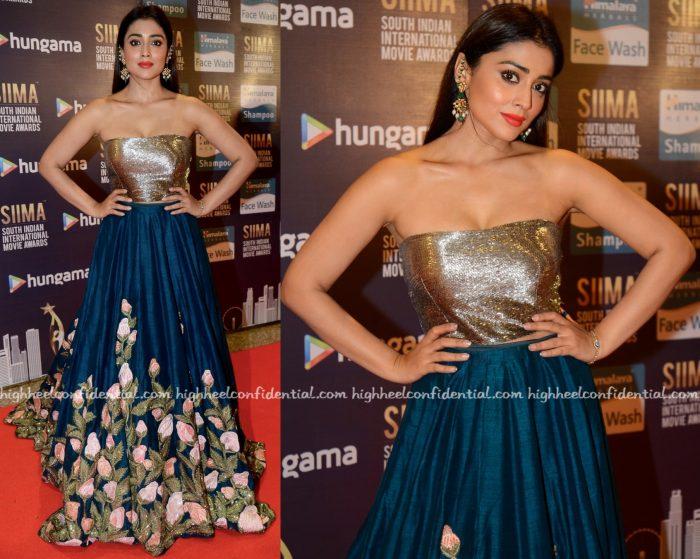 Shriya Saran Wears Manish Malhotra To SIIMA 2016-1