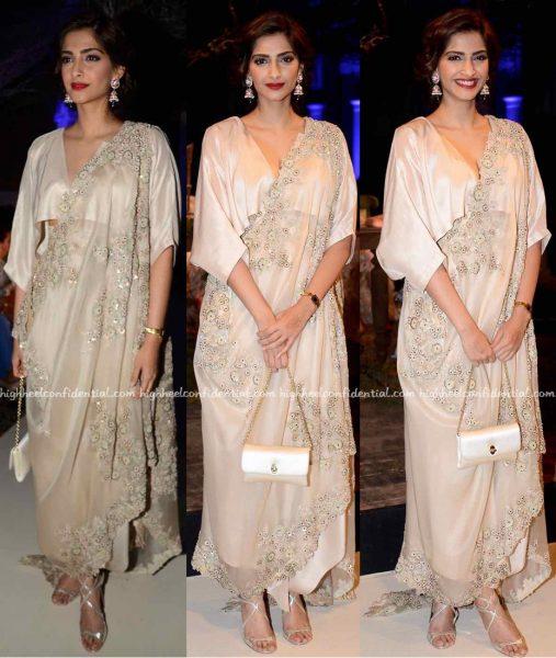 Sonam Kapoor At Anamika Khanna's Presentation At India Couture Week 2016-1