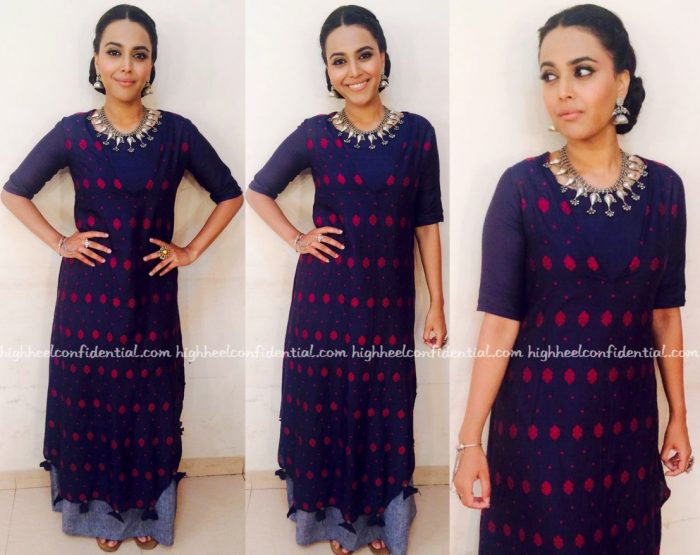 Swara Bhaskar Films Rangoli In Debashri Samanta And Roora By Ritam-1