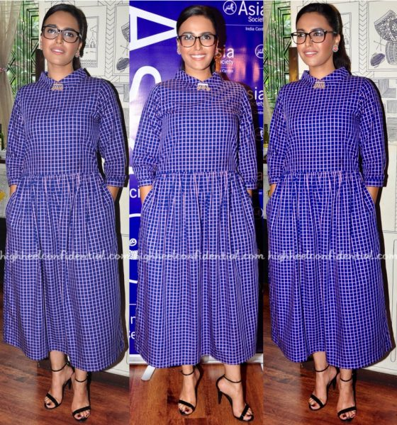 Swara Bhaskar In Maya Sarao At Asia Society's Screenwriters Fellowship Closing Ceremony-1