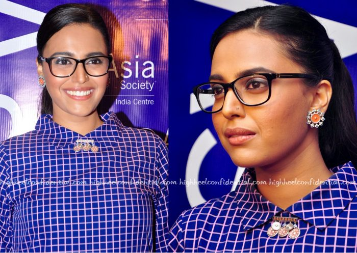 Swara Bhaskar In Maya Sarao At Asia Society's Screenwriters Fellowship Closing Ceremony-2