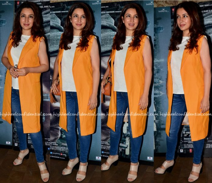 Tisca Chopra At Madaari Screening
