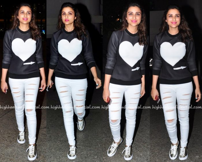 Travel(v)ogue- Parineeti Chopra Photographed In Mayyur Girotra At The Airport-1