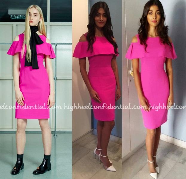 pooja-hegde-osman-mohenjo-daro-promotions-pink