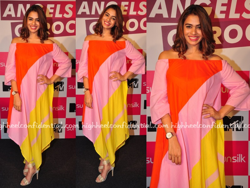 shalmali-kholgade-masaba-angels-of-rock-mtv-press-meet