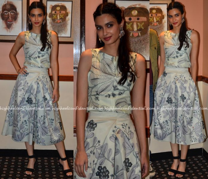 Diana Penty Wears AM-PM by Ankur and Priyanka Modi To 'Happy Bhag Jayegi' Promotions-1