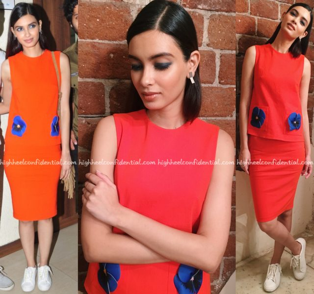 Diana Penty Wears Gauri And Nainika To 'Happy Bhag Jayegi' Promotions