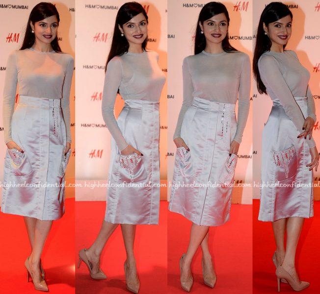 Divya Khosla Kumar At H&M Mumbai Launch