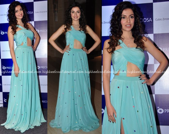 Divya Khosla Kumar In Deepankshi & Reena At Preciosa Event-2