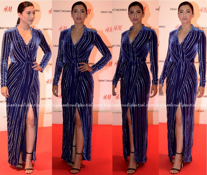Gauahar Khan At H&M Mumbai Launch