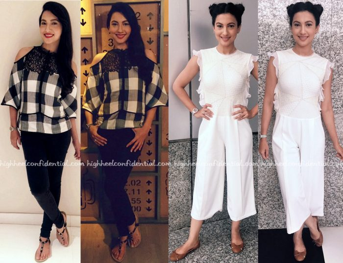 Gauahar Khan In Echo At Fever Promotions