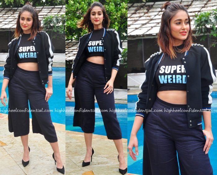 Ileana D'Cruz In Kanika Goyal, Sanchita And Hermant & Nandita At Rustom Promotions-1