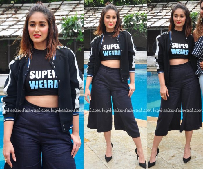 Ileana D'Cruz In Kanika Goyal, Sanchita And Hermant & Nandita At Rustom Promotions-2