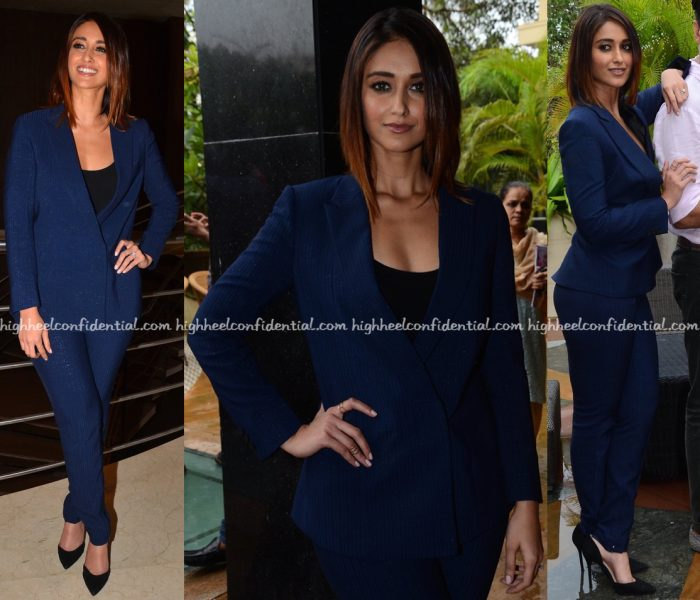 Ileana D'Cruz Wears Intrinsic To Rustom Promotions-2