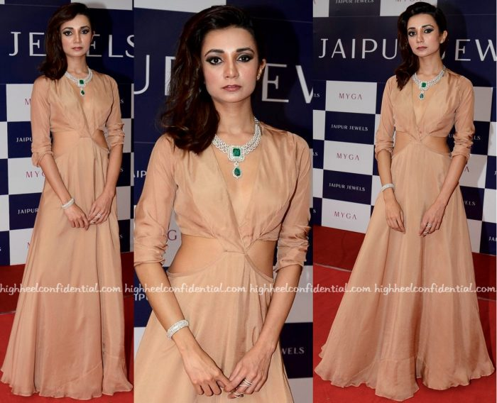 Ira Dubey Wears Deme By Gabriella To Jaipur Jewels' Myga Collection Launch