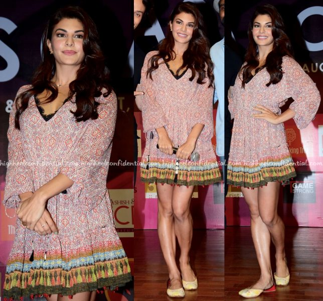 Jacqueline Fernandez Promotes 'A Flying Jatt' At JNAA 2016-1