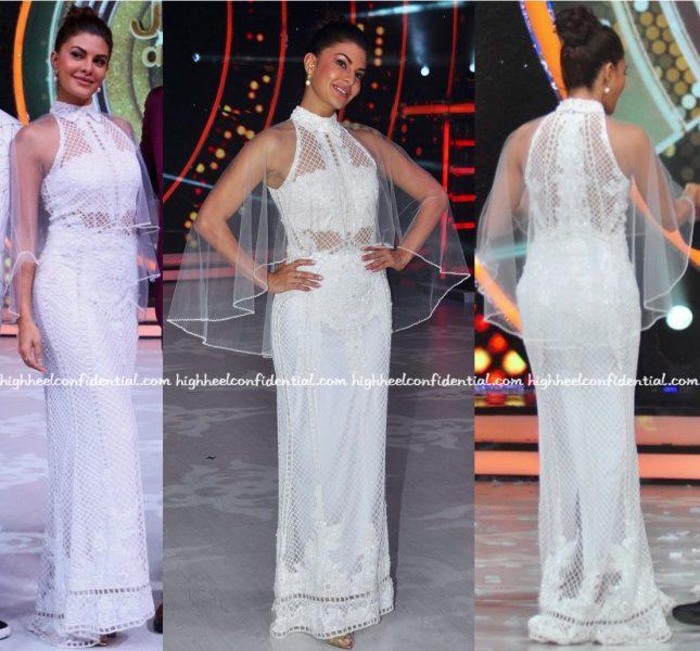 Jacqueline Fernandez Wears Karleo On Jhalak Dikhhla Jaa Sets-1
