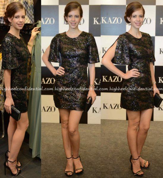 Kalki Koechlin At Kazo A:W 16 Collection Launch-1