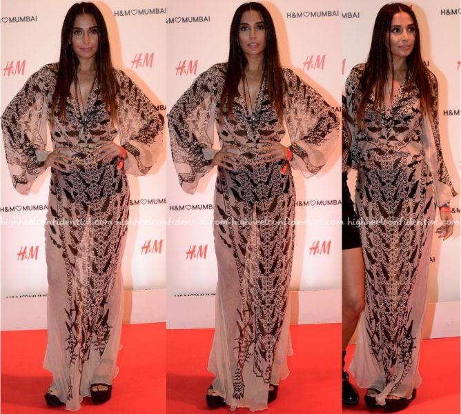 Monica Dogra At H&M Mumbai Store Launch