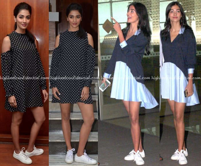 Pooja Hegde Wears Zara To Mohenjo Daro Promotions-1