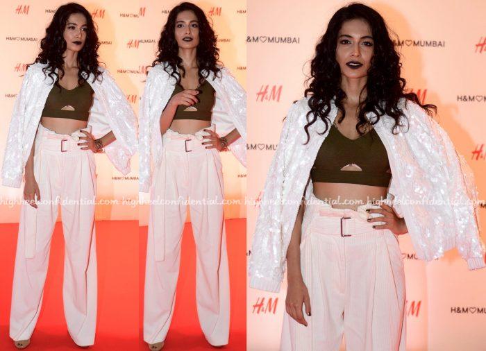 Sarah Jane Dias At HM Mumbai Launch