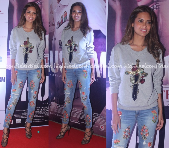 esha-gupta-monisha-jaising-rustom-screening