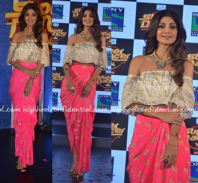shilpa-shetty-masaba-super-dancer-launch