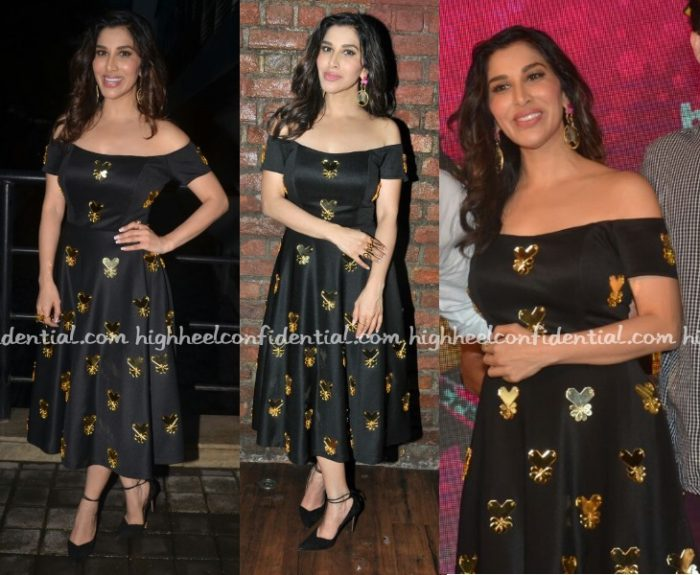 sophie-choudry-papa-dont-preach-sajan-main-nachungi-launch