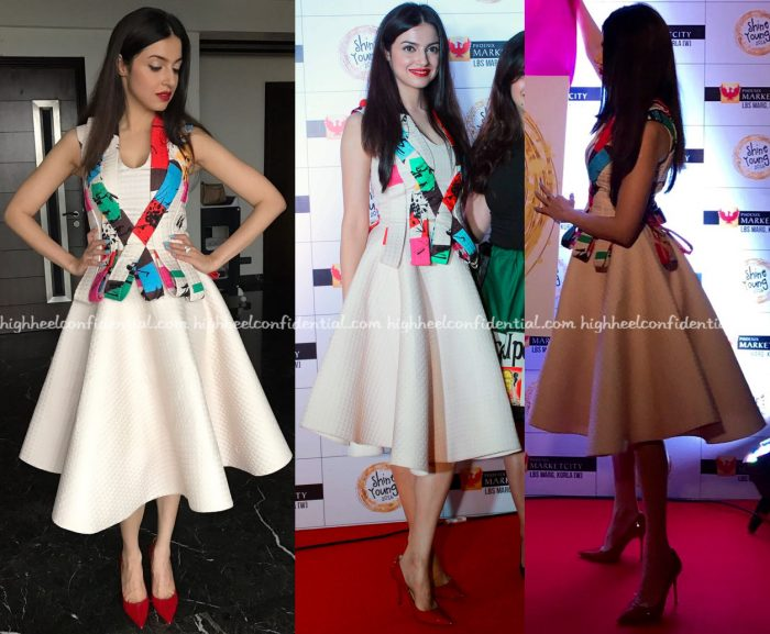 divya-khosla-kumar-wears-tanieya-khanuja-to-shine-young-2016-launch-1