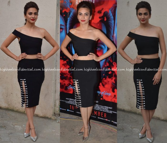 kriti-kharbanda-wears-dimple-amrin-to-raaz-promotions