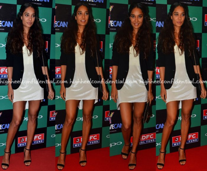 Lisa Haydon Wears Deme By Gabriella To 'You We Can' Launch-1