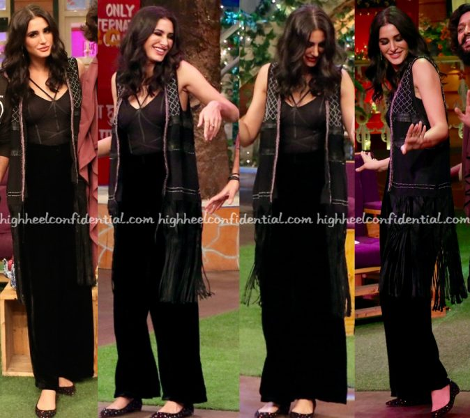 nargis-fakhri-photographed-in-hm-on-the-kapil-sharma-show-sets-for-banjo-promotions-2
