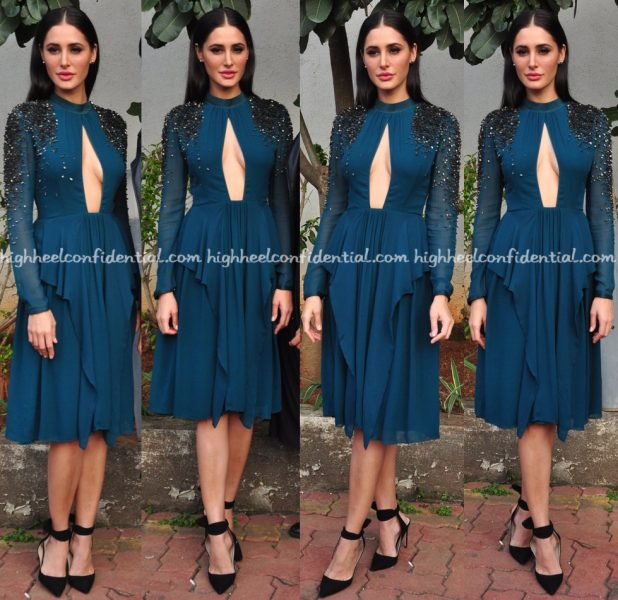 nargis-fakhri-wears-rohit-gandhi-rahul-khanna-to-dance-plus-sets-for-banjo-promotions-1