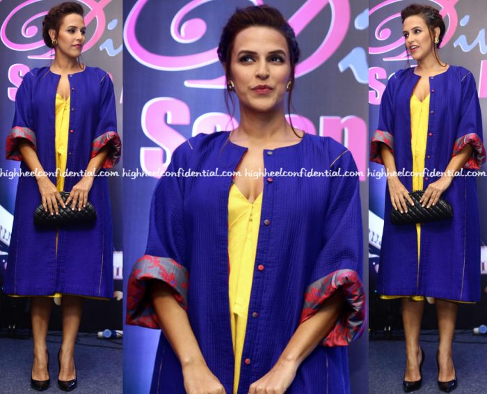 neha-dhupia-wears-sanjay-garg-to-idiva-salon-awards-2016-1